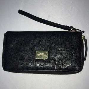 Kenneth Cole New York Leather Wallet Black